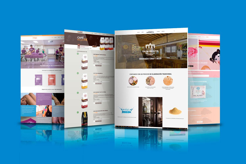 Diseño de páginas webs en Granada
