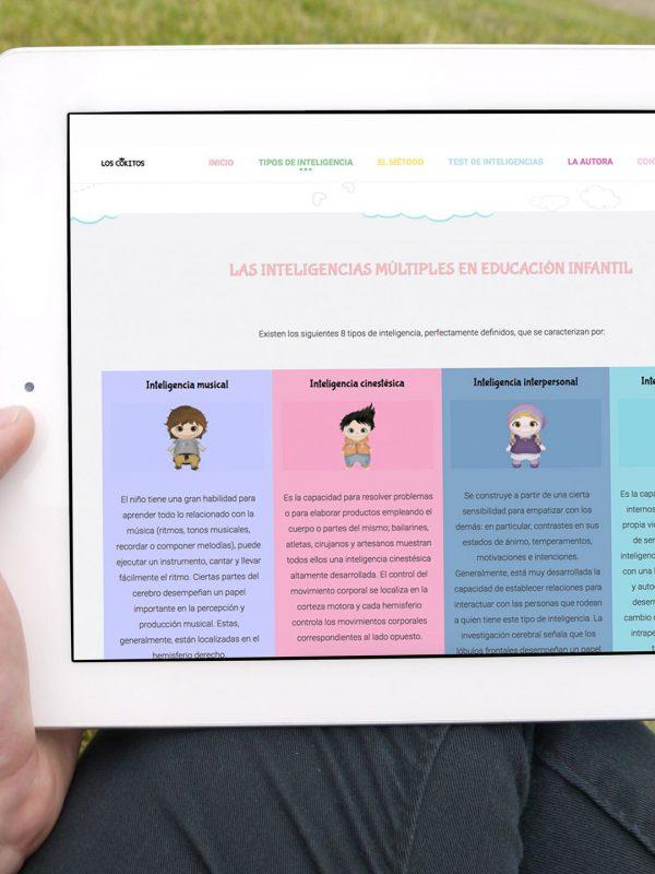 Diseño de Página Web Los Cokitos