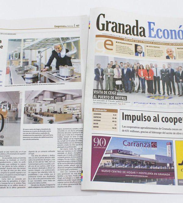Faldon de Prensa Carranza Hosteleria