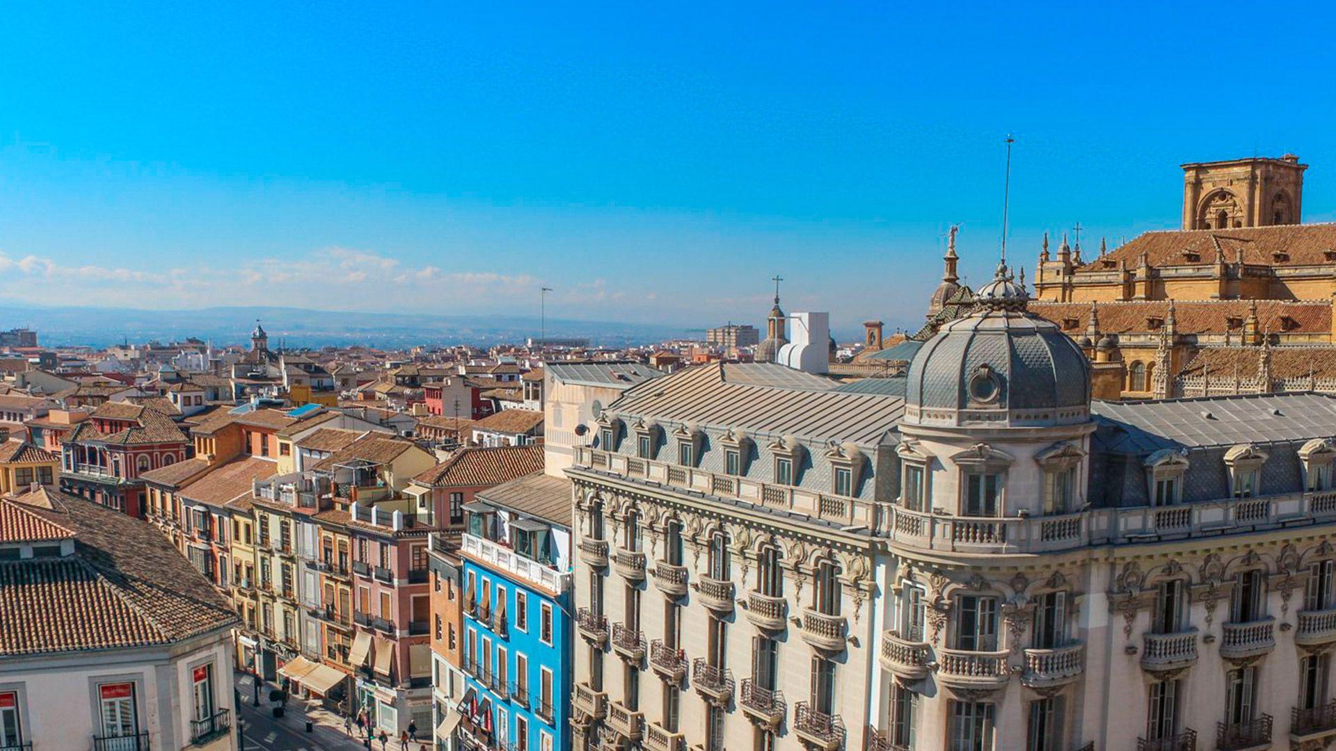 Agencia en el centro de Granada